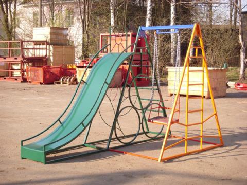 Детские конструкции для площадок своими руками